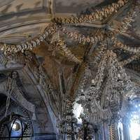 The Sedlec Ossuary is nothing spectacular in the outside. It is a small chapel located in Sedlec, in the suburbs of Kutna Hora, in the Czech Republic. You would think that it is just an average old medieval gothic church.  As you enter the Sedlec Ossuary though, you will soon realize why it is one of the most amazing and unique churches in the world.The Sedlec Ossuary is artistically decorated by more than 40.000 human skeletons. Join us for this amazing trip. Book now !!