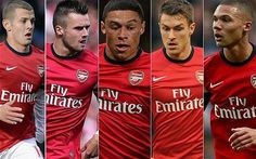 #ArsenalPlayers