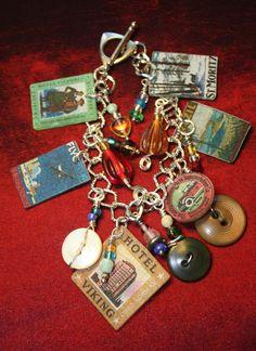 Urban Traveler Charm Bracelet