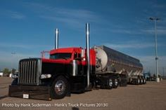 peterbilt hauling super b tankers - Google Search