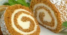 Really Easy Pumpkin Roll Cake Recipe