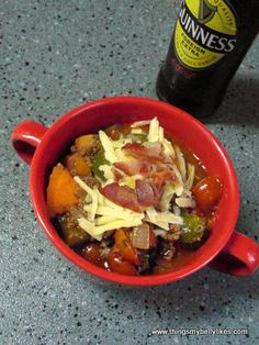Guinness and Sweet Potato Chili