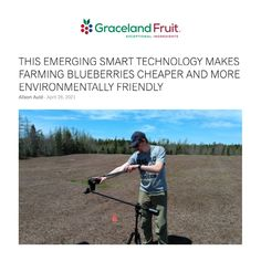 The Mechanized Systems Research Team at Dalhousie University is working to manage weed infestation in commercial blueberry fields through the use of deep learning convolutional neural networks (CNNs) — an emerging smart technology that can identify weeds and give farmers the information they need to apply agrochemicals in a more targeted fashion. Dried Blueberries, Deep Learning, Smart Technologies, Farmers, Weed, Fields, Blueberry, Commercial, University