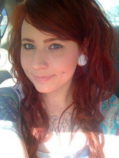 dimple piercings cheek