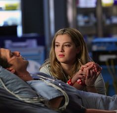 Red Band Society. Kara and Hunter.