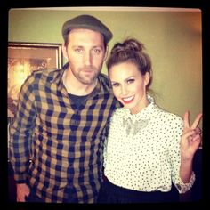 Mat Kearney and Keltie. See more here: http://insdr.co/ILG5Zi
