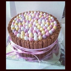 The best chocolate Easter Cake. Mini Eggs!