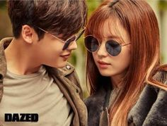 """The chemistry between Lee Jong Suk and Han Hyo Joo during their drama """"W – Two Worlds"""" must have enticed Dazed & Confused to pair them up again for their November issue and ne… Han Hyo Joo Lee Jong Suk, Lee Tae Hwan, Lee Jung Suk, Lee Dong Wook, Lee Joon, W Kdrama, Kdrama Actors, Korean Celebrities, Korean Actors"""