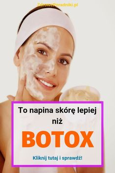 To napina skórę lepiej niż botox: ta maska Es strafft die Haut besser als Botox: Diese Good To Know, Tricks, Health And Beauty, Health Tips, Beauty Hacks, Hair Beauty, Cosmetics, Lettering, Healthy