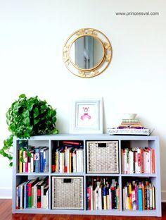 how to diy Paint laminate furniture ikea kallax chalk paint annie sloan