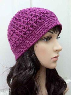 Aprender Crochet Paso a Paso | crochet paso a paso. En esta oportunidad, un gorro hecho a crochet ...