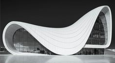 """""""There are 360 degrees, so why stick to one?"""" -  Zaha Hadid #heydaraliyevcenter"""