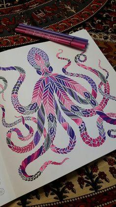 """""""Mimic Octopus"""" Curious Creatures Millie Marotta"""