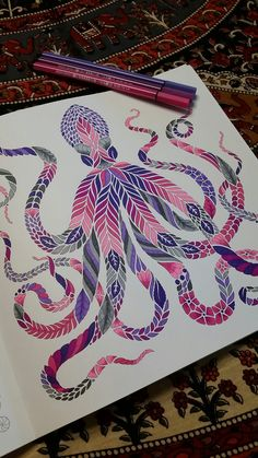 """Mimic Octopus"" Curious Creatures Millie Marotta"