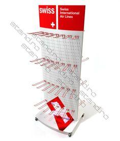 stand display tabla perforata personalizat swiss www.stand.ro