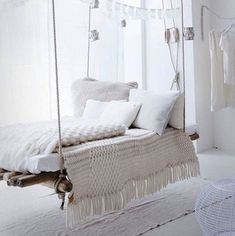 Swing Bed - Sweet Dreams: 10 Inventive Beds You Can Make Yourself