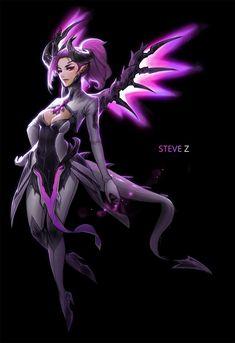 Steve Z - Mercy (mode démon), Overwatch