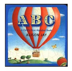 A-B-C A Child's First Alphabet Book  It has large pictures to represent the letters Each letter is represented by an object All of the illustrations have a mosaic feel