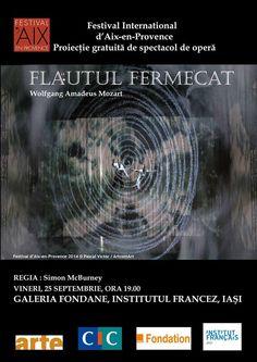Spectacole de opera proiectate la Institutul Francez Iasi