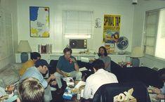 Simpsons writers room in 1992