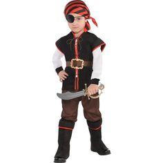 Little Boys Rebel of the Sea Pirate Costume