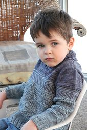 Ravelry: Peter & Wendy pattern by Stephanie Voyer, $6.50. DK, 4mm, ages 2-4-6-8-10 yrs
