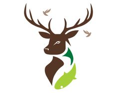 Hunting fishing Logo Ideas | 63d735efccc8241a7eb83d30df8fae1b.png