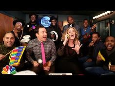 "Jimmy Fallon, Adele & The Roots Sing ""Hello"" (w/Classroom Instruments) - YouTube"