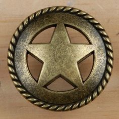 Rustic Western Texas Lone Star Drawer Pull Knob On Etsy, $3.00