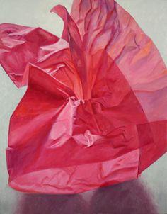 "Douglas Newton; Painting, ""Cerise"" #art"