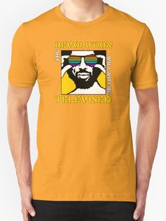 REVOLUTION WILL NOT BE TELEVISED GIL SCOTT HERON by SUPER-TEES
