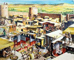 Jericho (Original) art by Peter Jackson at The Illustration Art Gallery
