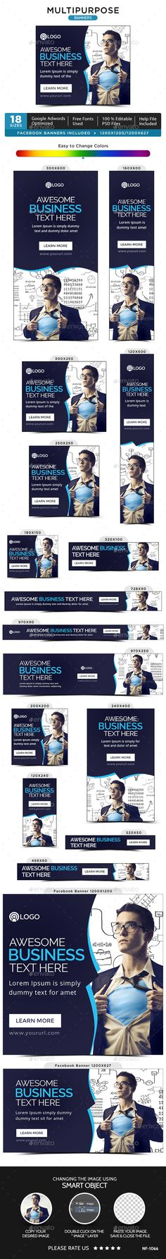 Multipurpose Web Banners Template PSD. Download here: http://graphicriver.net/item/multipurpose-banners/14844415?ref=ksioks