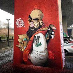 Arte callejero, Alemania.
