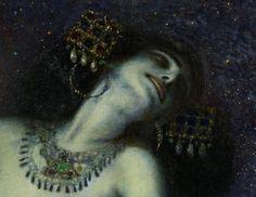 """""""Salome"""" (detail), 1906, Franz von Stuck."""