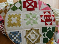 "#quilts Perhaps one day I will have enough time to do a ""dear jane"" quilt"