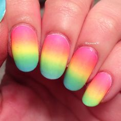 """Simple rainbow gradient "" Photo taken by @learose30 on Instagram, pinned via the InstaPin iOS App! http://www.instapinapp.com (03/08/2015)"