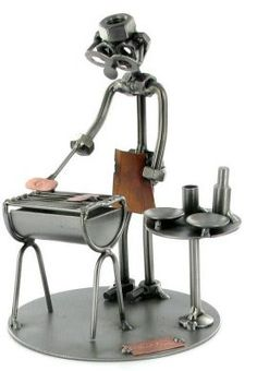 Barbeque Nuts and Bolts Figure