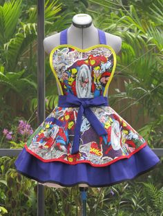 Marvel Comics Double Full of Flounce Sexy Pin Up by AquamarCouture