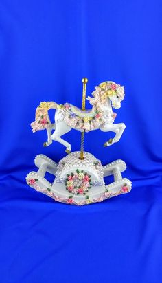 Carousel Rocking Horse Music Box by Dorystreasures on Etsy