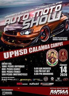 Car show alert! Show Must Go On, Car Show, Philippines, Broadway Shows