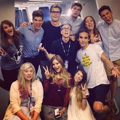 Joey Graceffa, Marcus Butler, Jim Chapman, Tanya Burr, Alfie Deyes, Tyler Oakley , Louis, Louise, Justine, Zoe Sugg!! Love all these people