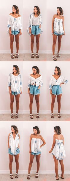 Mainly for Adeline and Lilian Pretty Outfits, Cool Outfits, Casual Outfits, Diy Fashion, Ideias Fashion, Fashion Dresses, Clothing Hacks, Outfit Goals, Mode Inspiration