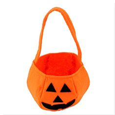 JYFY Halloween Pumpkin Trick or Treat Bags Kids Candy Bag for Halloween Props Decoration Costume Party -- Click image for more details. (This is an affiliate link) #PartyFavors
