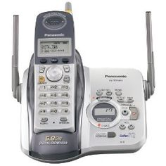 Panasonic KX-TG5431S 5.8 GHz DSS Cordless Telephones with Answering System (Silver/White) Review