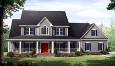 House Plan 59930 | Country   Traditional    Plan with 3000 Sq. Ft., 4 Bedrooms, 4 Bathrooms, 3 Car Garage