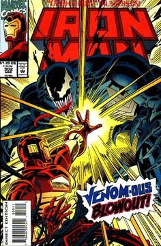 Iron Man (1968 1st Series) 302  Marvel Comics Modern Age Comic book covers Super Heroes  Villians  Venom