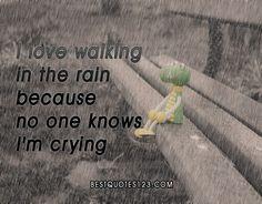 Rain #sad #quotes