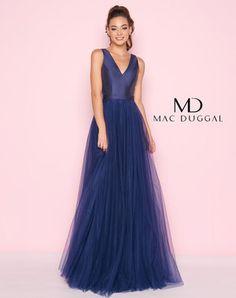 5dd4605e0e Mac Duggal 48564 Long Formal Gowns