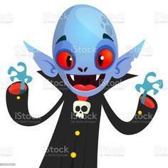 Cute cartoon vampire smiling. Vector illustration isolated - Векторная графика Белый роялти-фри Vampire Cartoon, Cute Cartoon, Sonic The Hedgehog, Illustration, Fictional Characters, Illustrations, Fantasy Characters, Cute Comics